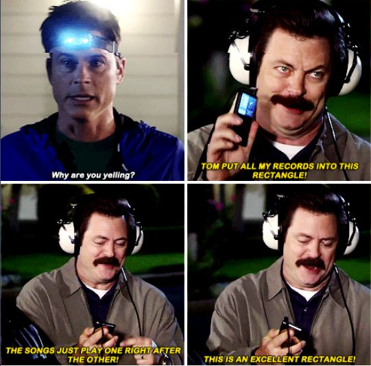 On technology: | 26 Ron Swanson Quotes That Are Never Not Funny