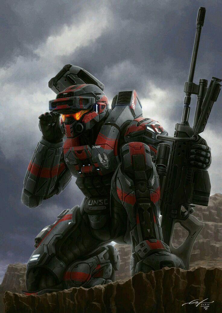 Spartan - sniper - halo