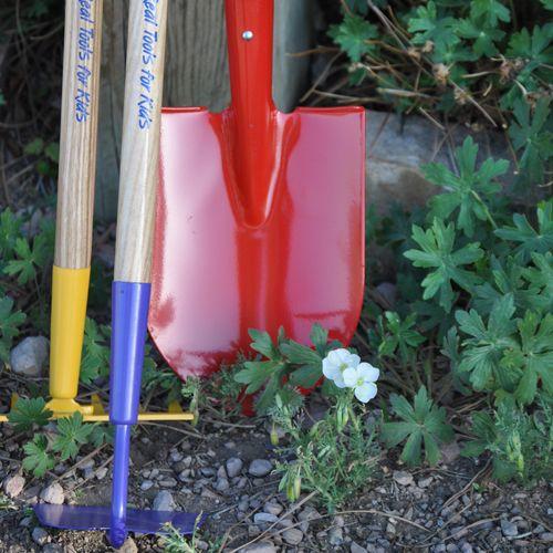 Children's Gardening Tools | Child's Garden Shovel | Child's Garden Rake | Child's Garden Hoe