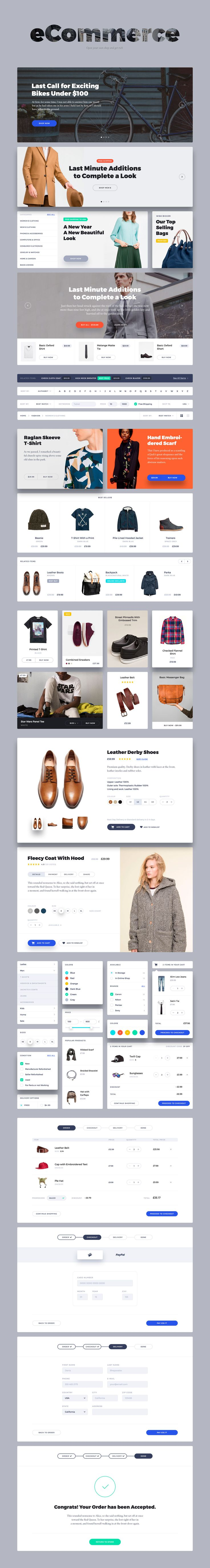 Portland – perfect, elegant and bright UI Kit. It combines beauty and usability…