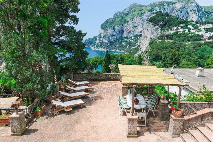 Villa in the heart of Capri  Naples, Italy – Luxury Home For Sale