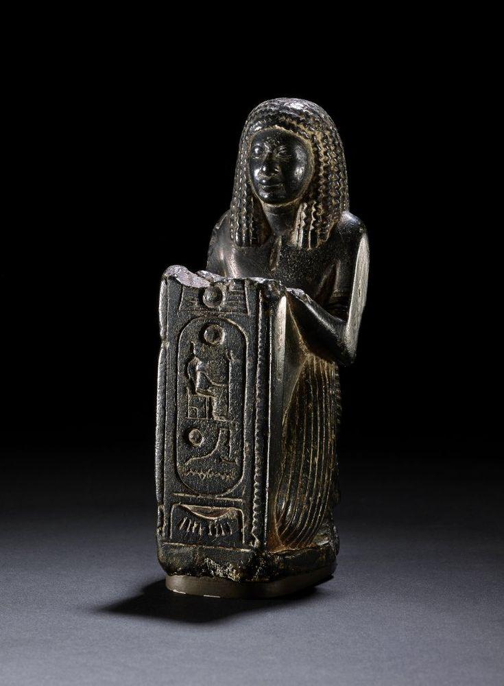 Steatite statue of Meryptah. 19th dynasty. Reign of Ramses II.   The British Museum