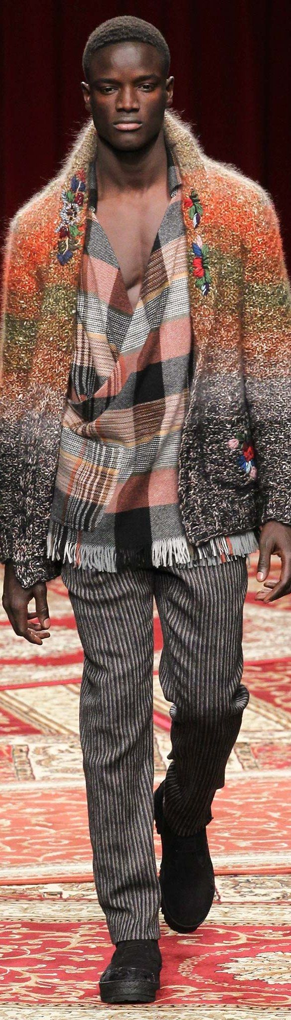 Missoni Menswear Fall-Winter 2015-16