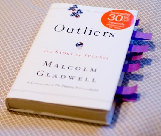 14. A Book Worth Reading... I adore Malcolm Gladwell, and Outliers was my first favorite of his. It's such an interesting and easy read. All you #ModCloth fans should check it out! #makeitwork