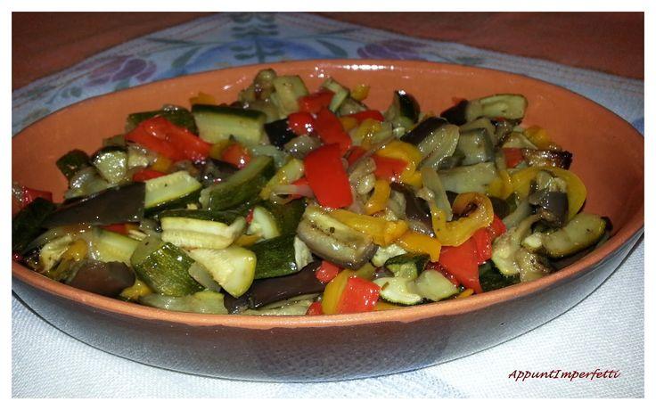 Verdure estive al forno
