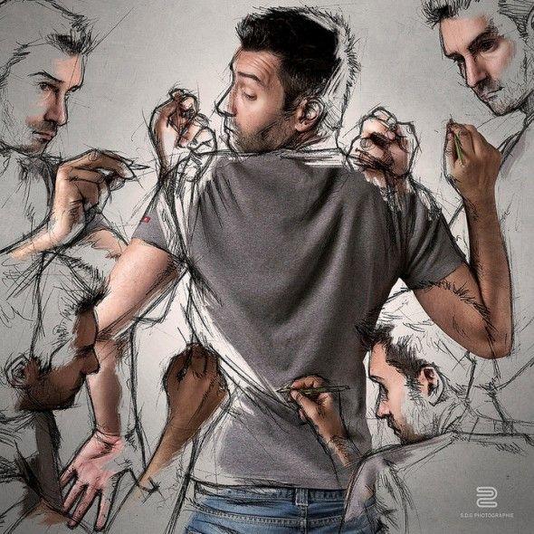 My sketches and me / Sébastien Del Grosso | AA13 – blog – Inspiration – Design – Architecture – Photographie – Art