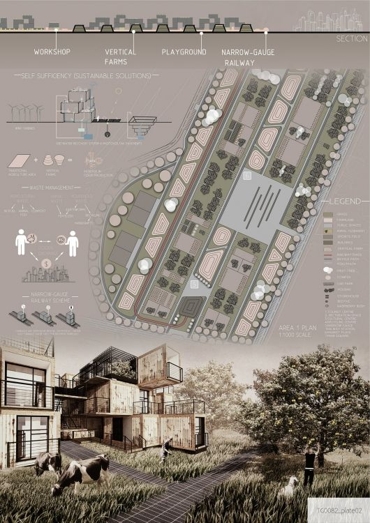 [A3N] : The tur(i)ntogreen international design competition winner ( 2nd Prize : Tur(i)ntogreen ) /Agata Lisowska, Paulina Kuszneruk, Marta Kaplan (Technical University of Bialystok, Poland)