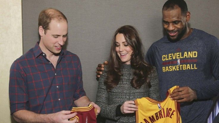 pics of lebron james with william and kate | Play William and Kate meet basketball royalty Lebron James