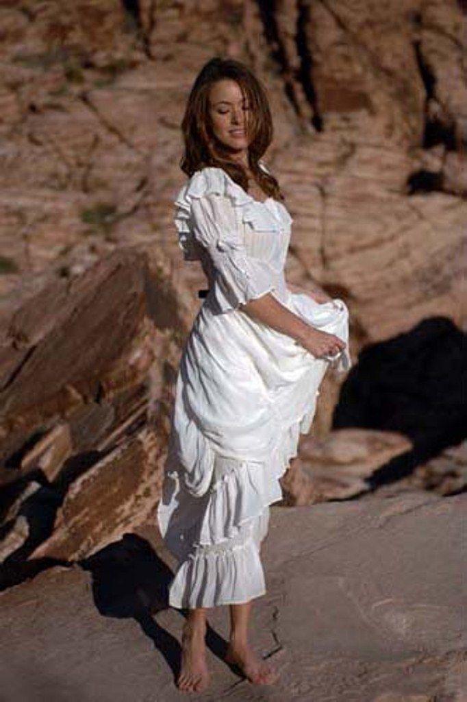 White Cowgirl Wedding Dresses