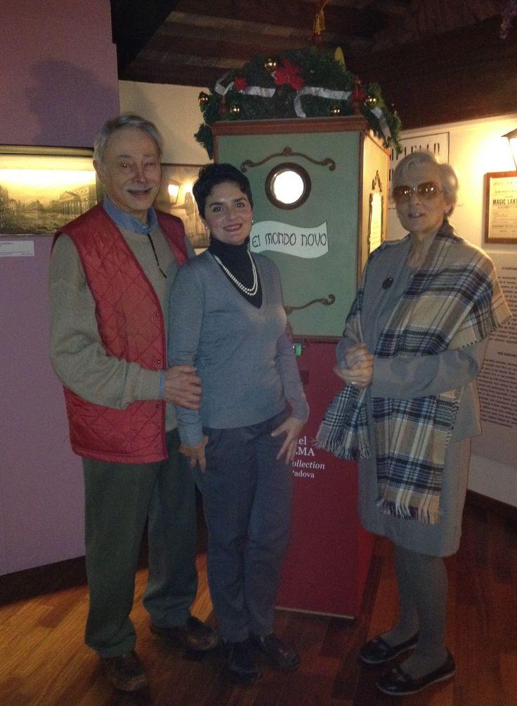 La Fabbrica del Vedere in visita al Museo del PRECINEMA.