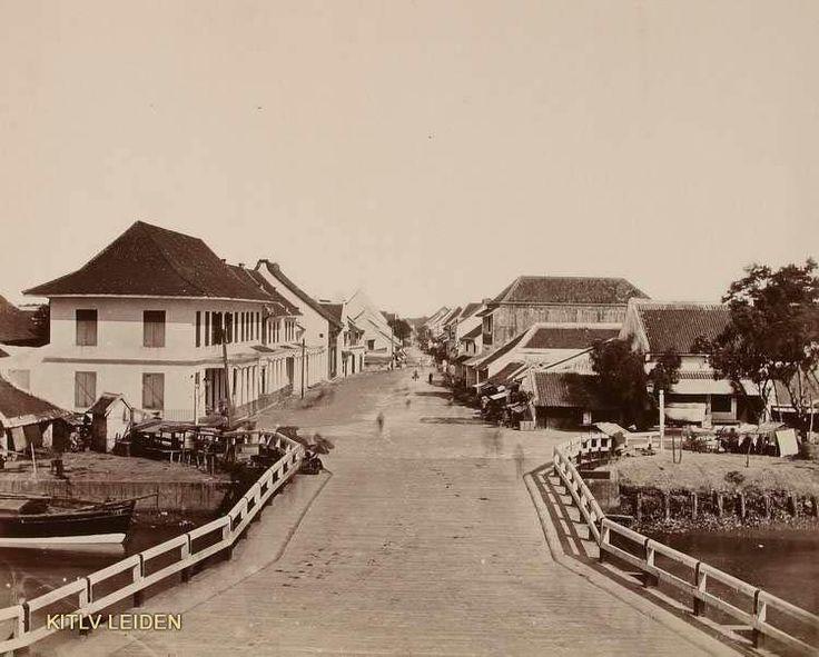 Jembatan merah, surabaya, 1880