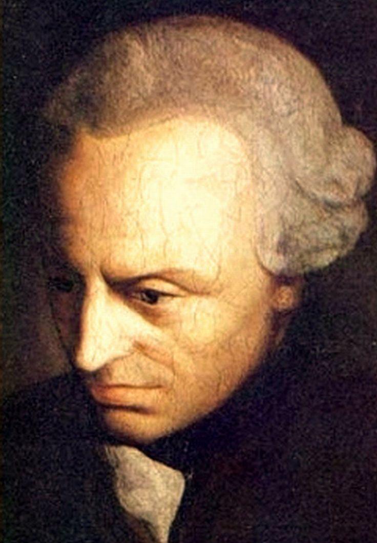 Immanuel Kant: ,, Wszystka wiedza pochodzi z doświadczenia. Doświadczenie jest produktem rozumu. ''