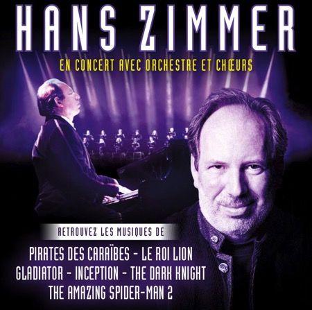 Hans Zimmer – Concert cinématographique – Bercy 2017
