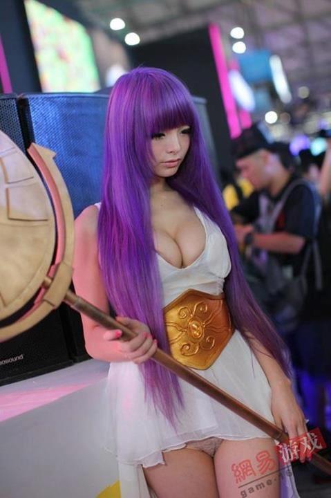 Character: Athena From: Saint Seiya Cosplayer: Li... - Cosplay and Costumes #cosplay