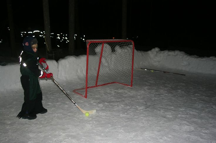 Ice hockey in Lapland,