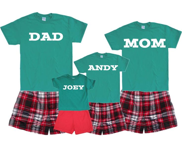17 Best images about Personalized Name Pajamas for Family - Women ...