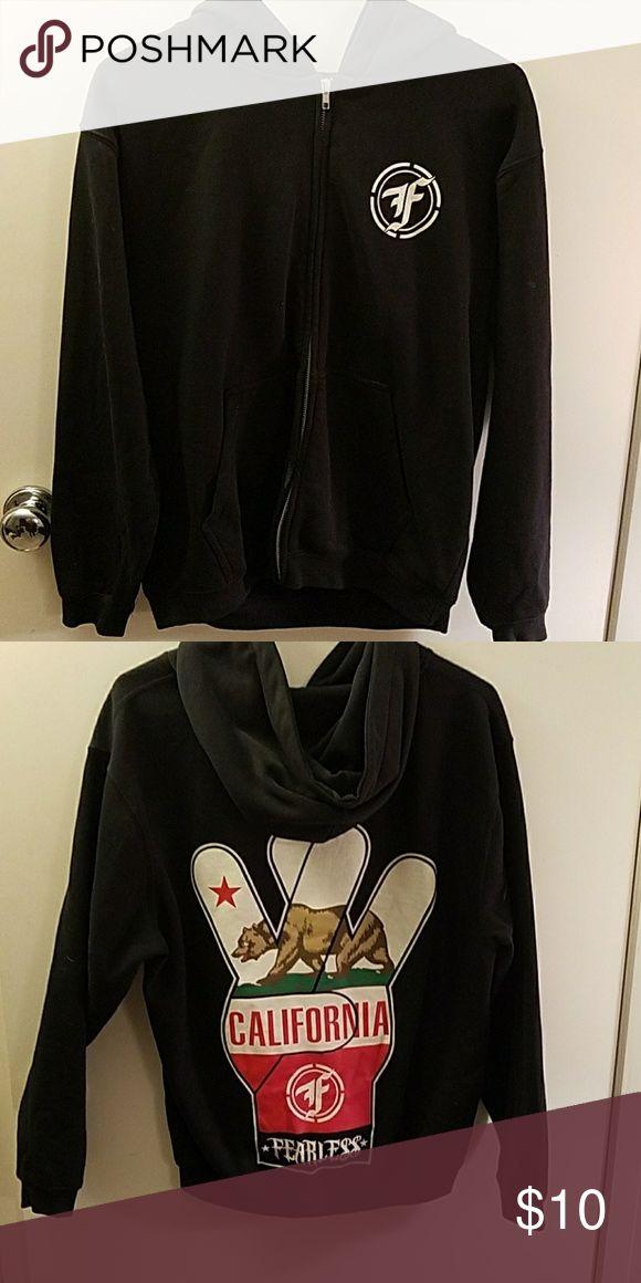Black west coast jacket Cotton ployester Fearless Jackets & Coats