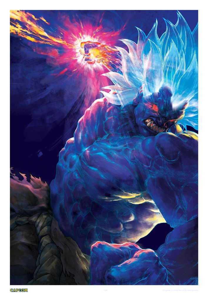 Oni Akuma / 狂オシキ鬼 – Limited Edition Premium Art Print | Kinetiquettes