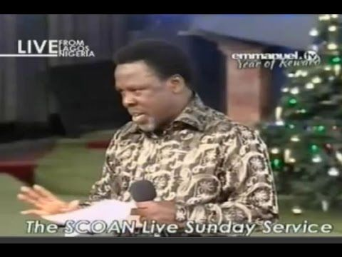 03/01/16: Southern Africa & World Prophecy TB Joshua. Emmanuel TV