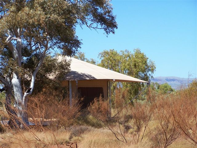 Our Deluxe Eco Tent located at Karijini Eco Retreat,  Karijini National Park ... Ultimate Glamping Experience