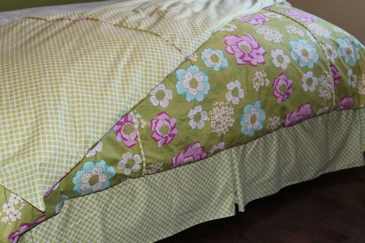 Reversible duvet cover