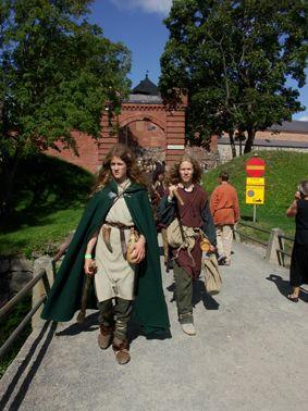 Hämeen keskiaikamarkkinat - Häme Medieval Faire 2007, Markkinaväkeä - People from Faire, © Timo Martola