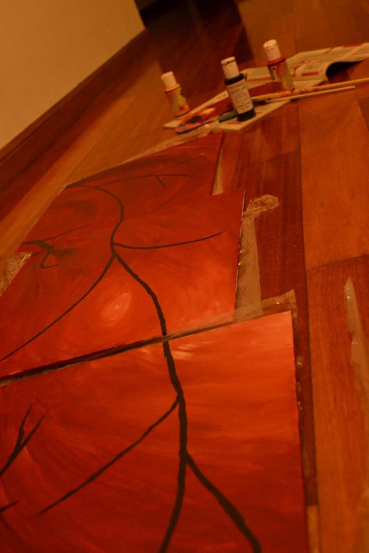 Proceso pintura