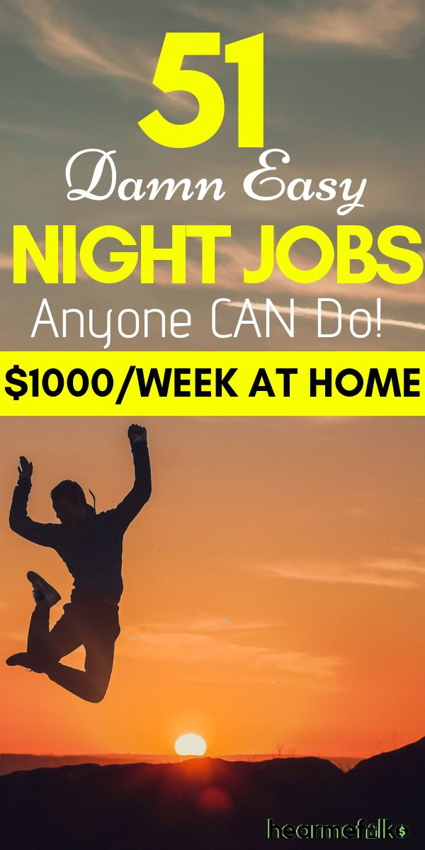 51 Best Late Night Work From Home Jobs that Pay Often