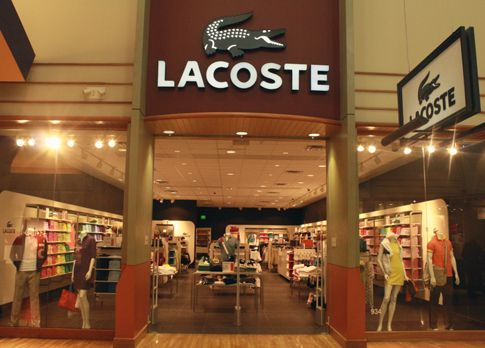Lacoste Outlet store front