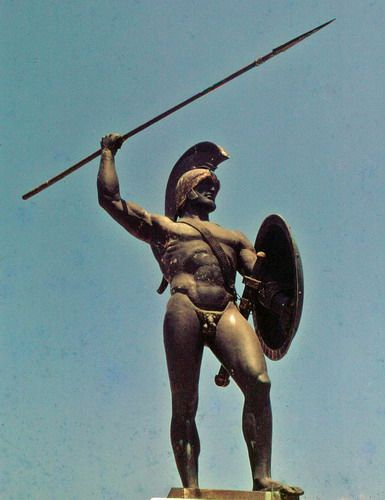 Thermopolyae, Delphi, Greece - take a picture in front of this sweet statue of King Leonidas.