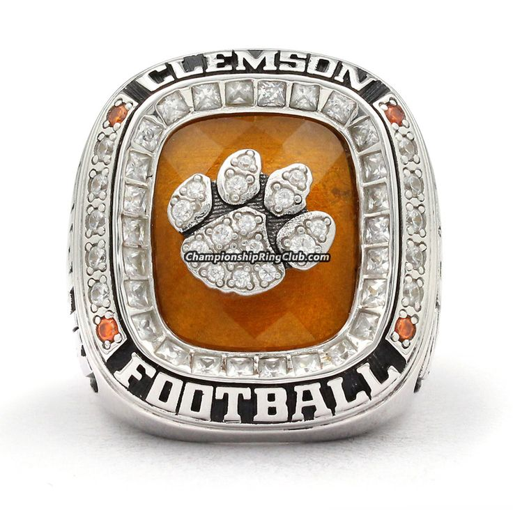 grande screen tigers ncaa acc fox rings ring clemson am at replica shot championship products