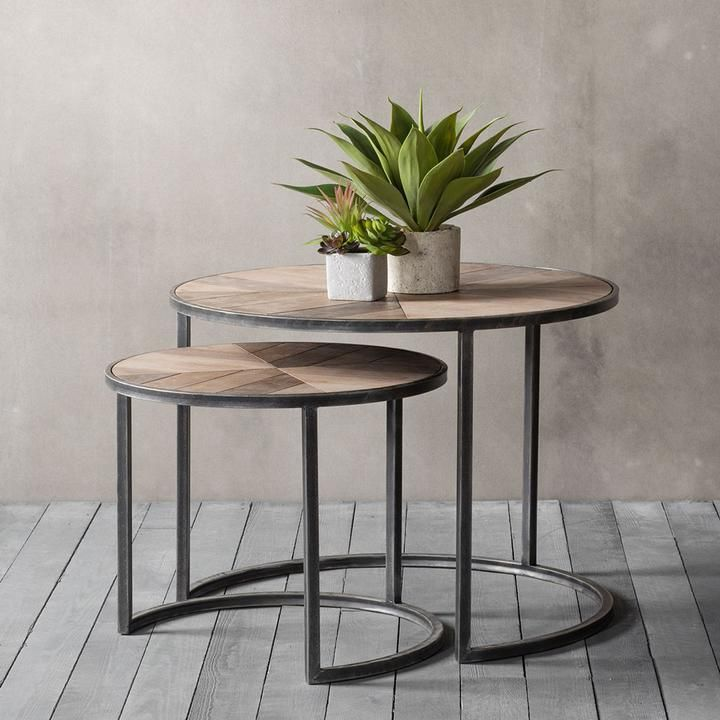The Firwood Range Coffee Table Nest Of 2 Nesting Tables