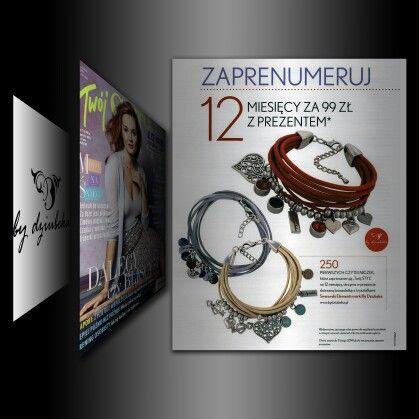 Czytacie magazyn Twój Styl? #bydziubeka #jewelry #gift