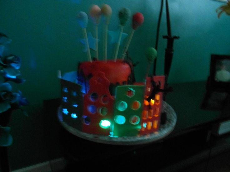 Bruce Springsteen Cake Topper