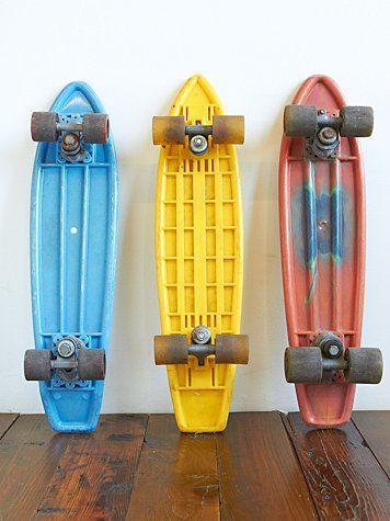 Vintage 1970's Skateboards
