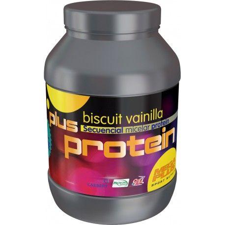 PLUS PROTEIN 1Kg sabor Chocolate,Plus Protein combina: Aislado de proteína de suero concentrado de proteínas de suero- WHEY que aporta un 10% de inmunoglobulinas y un 20% de aminoácidos esenciales y Caseinato cálcico de altísima calidad, buena digestibilidad y absorción completa, contiene un 13% de proteínas de alto valor biológico y ovoalbumina. Plus Protein asegura el recambio proteico, por su especial composición aporta de manera secuencial aminoacidos.42,30€. todastuscompras.com