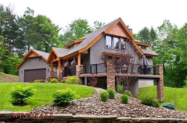 Timber Frame House | The Windfall | Timberbuilt