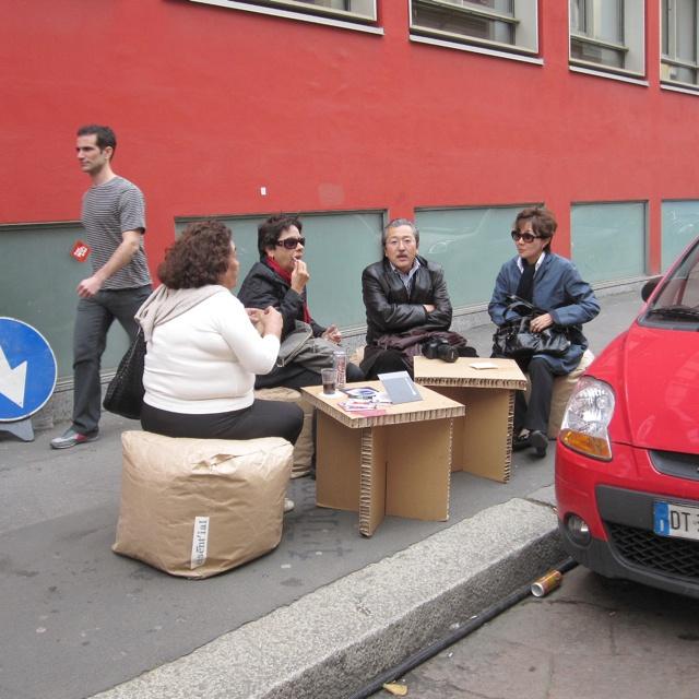 Pop up coffee shop at Tortona district {milan.04.11}