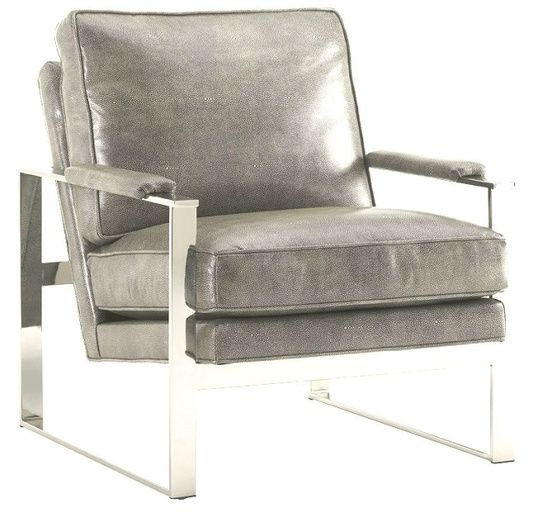 shagreen chair - #livingroomchairs  #diningroomchairs #chairdesign upholstered dining chairs, silver chair, upholstered chairs | See more at http://modernchairs.eu