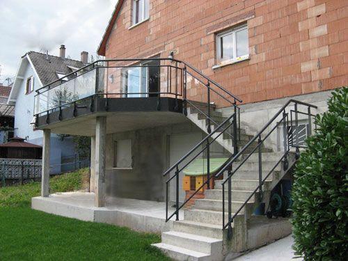 Les 90 meilleures images propos de ma maison envies for Escalier exterieur plastique