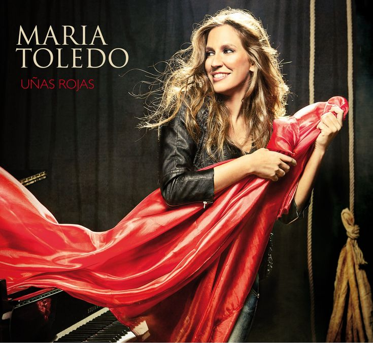 Maria Toledo - Uñas rojas frontal #cover #covercd  #portada #portadacd #caratula #caratulacd #albumcover