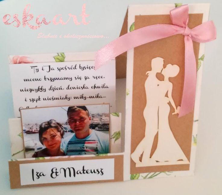 eskaart - Ślubnie i okolicznościowo...  Kartka Ślubna Pamiątka Ślubna