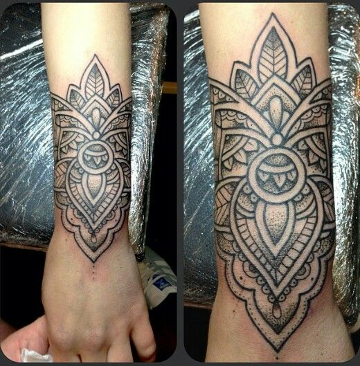 Mandhi Tattoo designs art