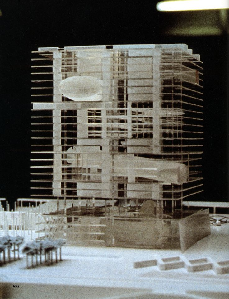 Rem Koolhaas OMA | Tres Grandes Biblioteque | Paris | competition | 1989