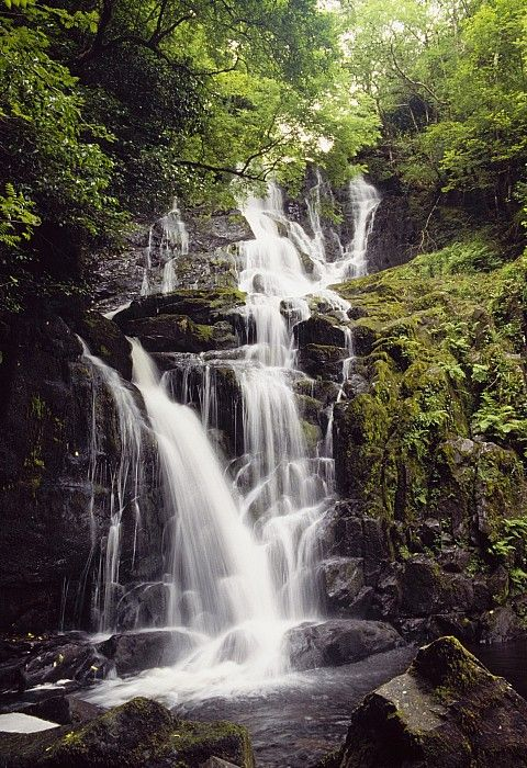Waterfall, Killarney, Co Kerry, Ireland