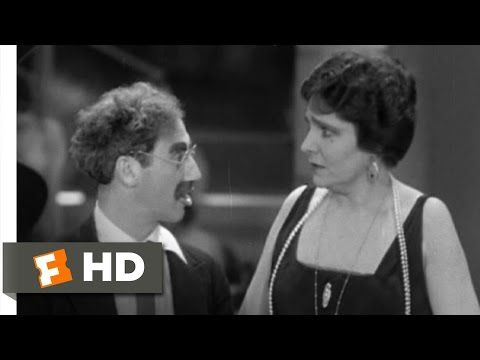 Groucho Marx in Animal Crackers - Movie Monologue Monday - The Theatrefolk Blog