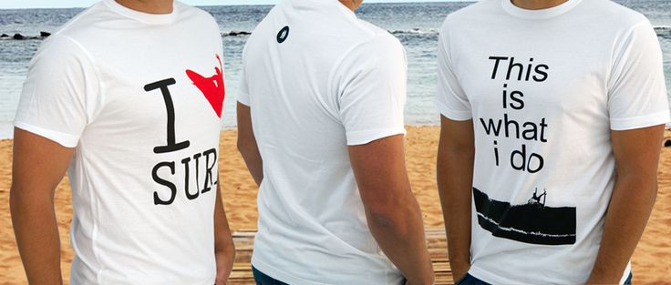 No hay verano sin camiseta!! #surf #fashion #style #swag #camisetas #surfing www.liketosurf.com