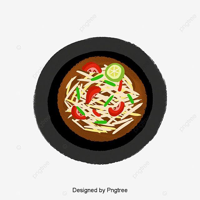 Ilustracao De Comida Tailandesa Png E Psd In 2020 Food Illustrations Gourmet Recipes Gourmet