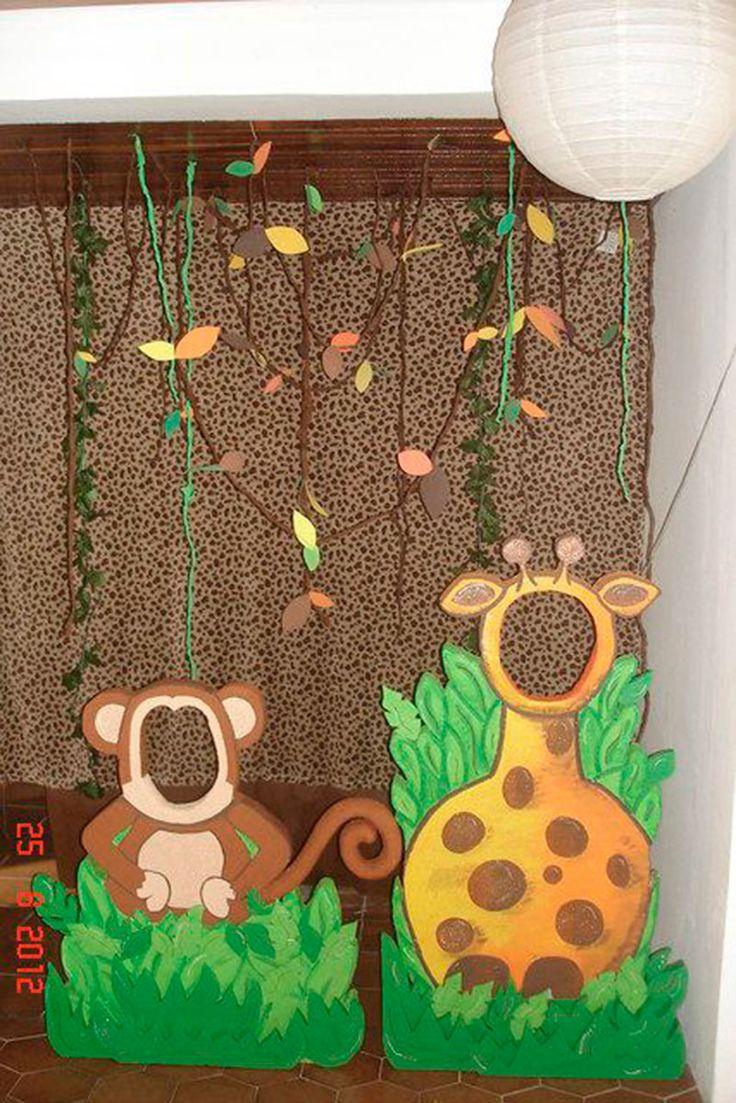 Festa Safari - 60 inspirações de decoração infantil