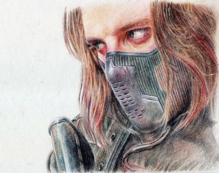 the winter soldier by *tutut on DeviantArt